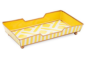 Guest Towel Tray, Colette Yellow
