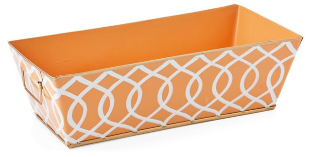"13"" Catchall, Tangerine Kate"