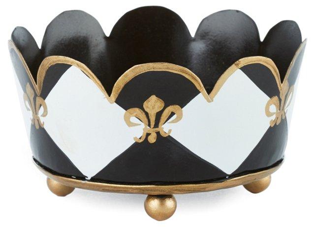 Coaster Holder, Black Harlequin