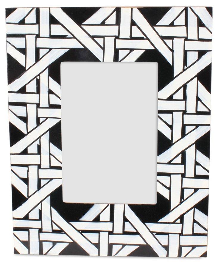 5x7 Cane Frame, Black