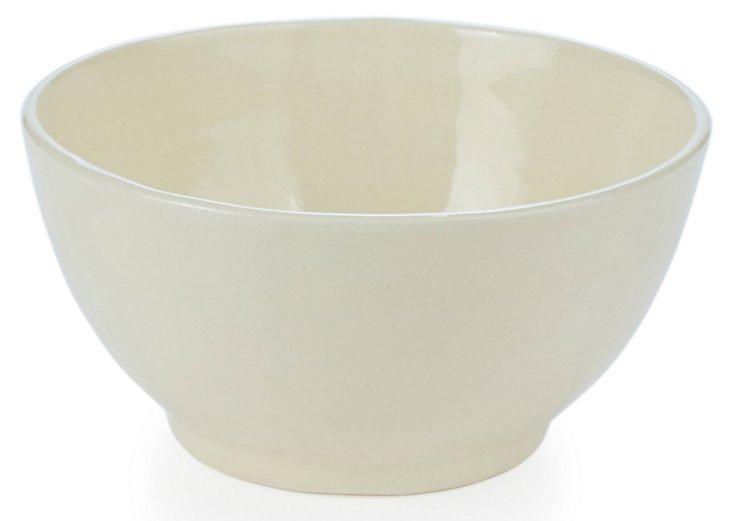 Large Nut Bowl, Cream