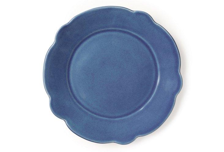 Clover Salad Plate, Blue