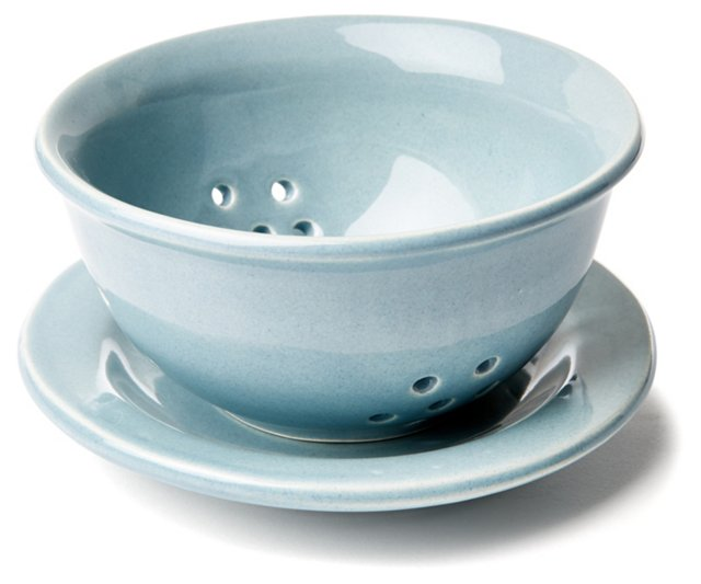 Small Strainer, Blue