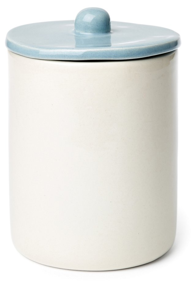 Small Canister, Blue