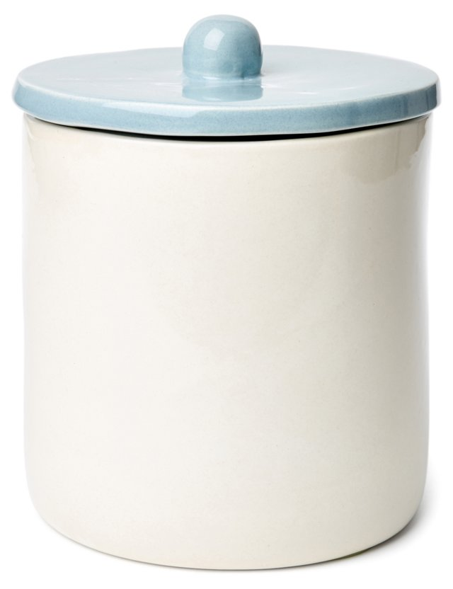 Large Canister, Blue