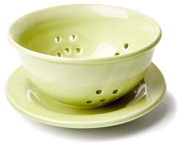 Small Strainer, Green