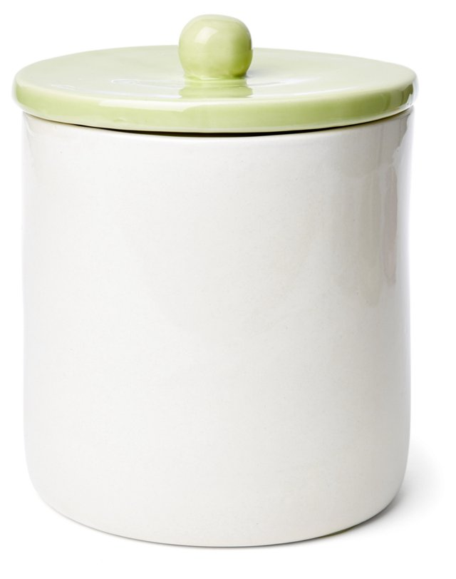 Large Canister, Green