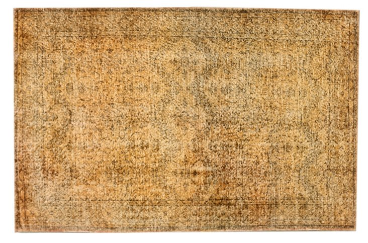 "5'4""x8'4"" Beacan Rug, Buff Orange"