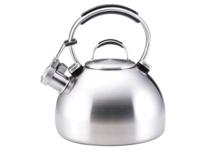 2 Qt Classic Tea Kettle, Stainless Steel