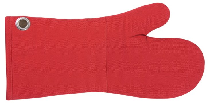 S/2 BBQ Mitts, Red