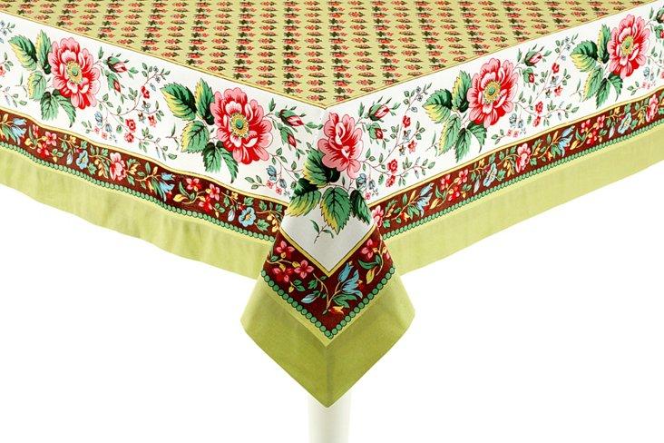 Fete Jardin Tablecloth