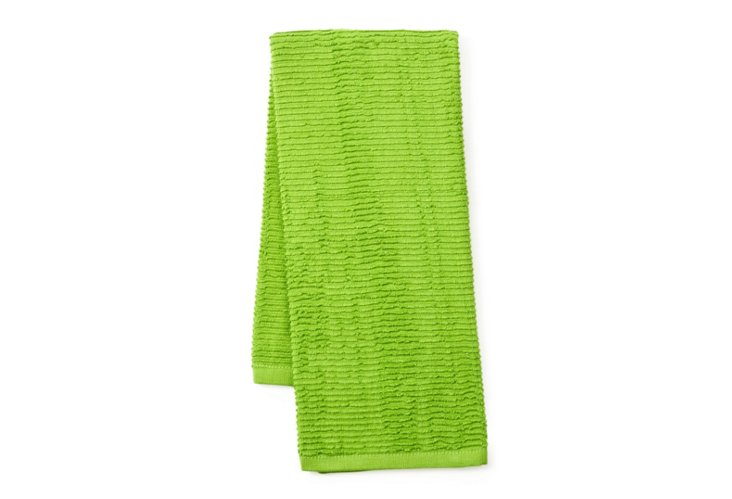 4-Pc Terry Kitchen Towel Set, Apple