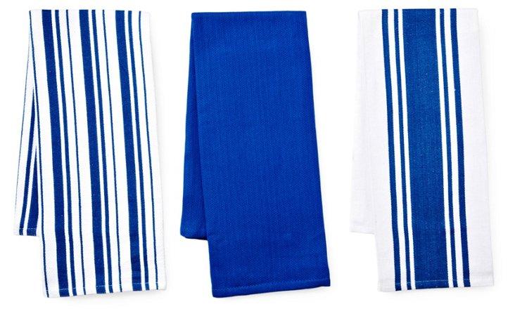 3-Pc Whim Kitchen Towel Set, Snorkel