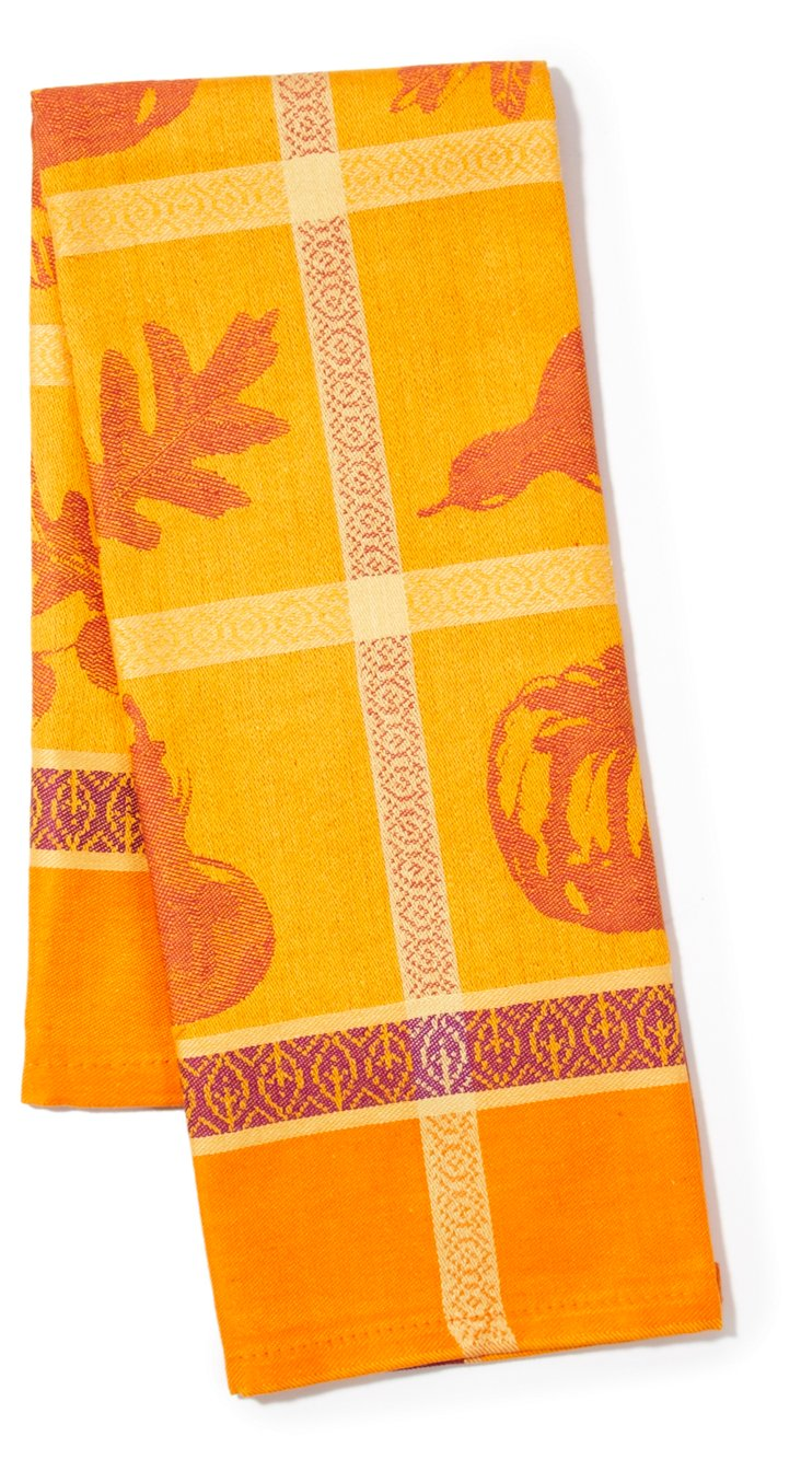 S/2 Kitchen Towels, Acorn