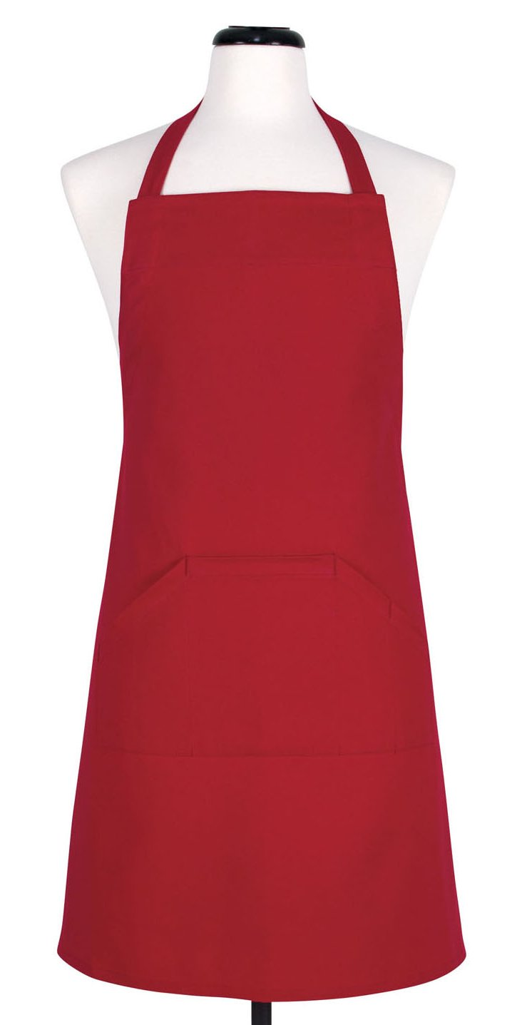Cinched Apron, Cherry