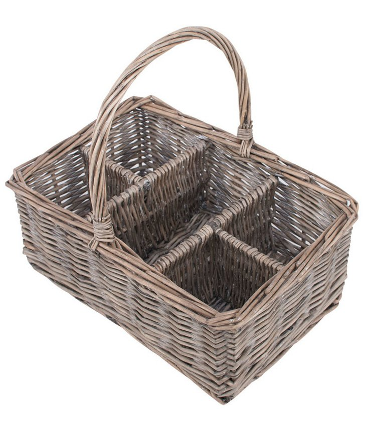 Fete Willow Glass Caddy