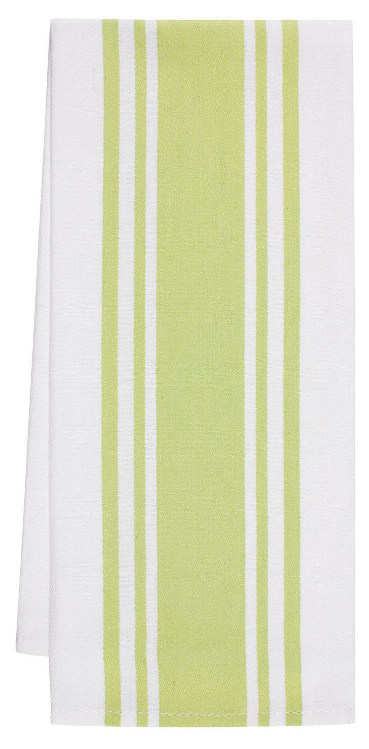 S/4 Center-Band Towels, Pear