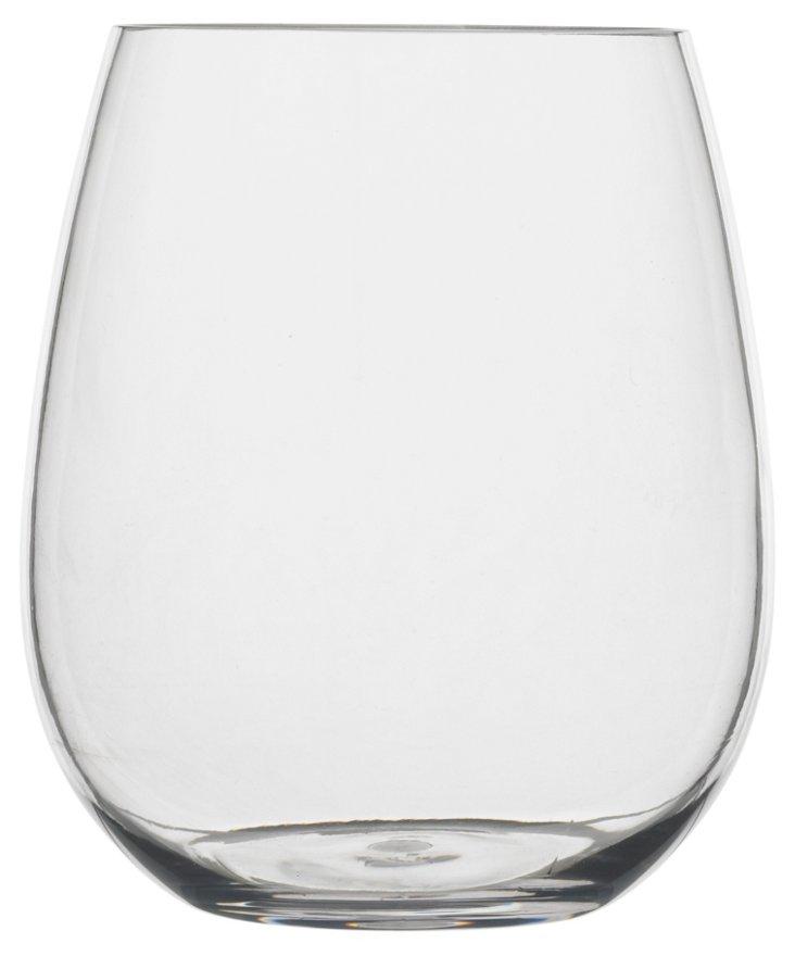 S/4 Shatter-Resistant Stemless Glasses