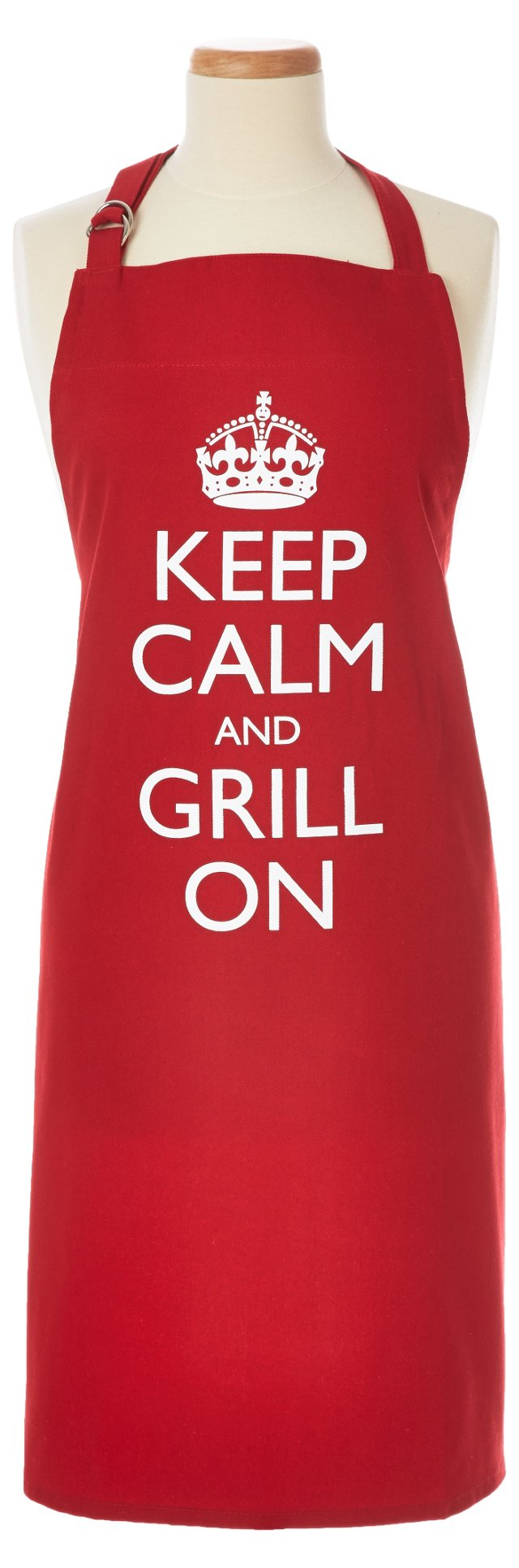 Keep Calm & Grill On Apron