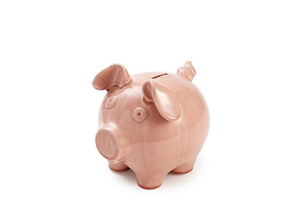 Ceramic Pig Bank