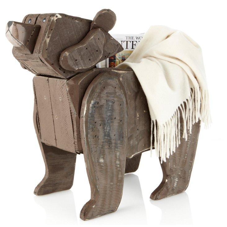 Reclaimed Wood Bear Box