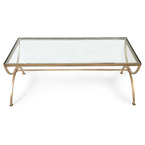 Arabella Coffee Table, Clear