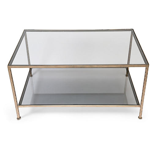 Lowerline Coffee Table, Clear