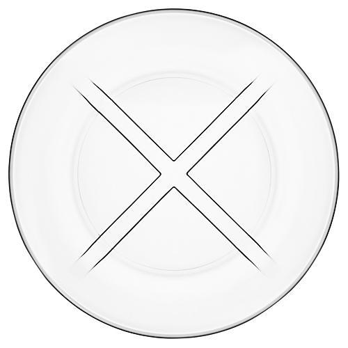 Bruk Salad Plate, Clear