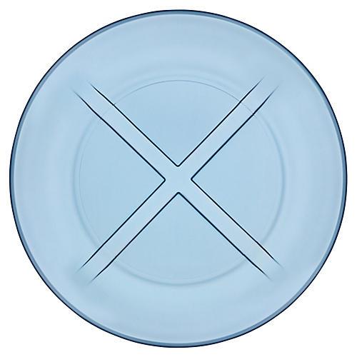 Bruk Salad Plate, Water Blue
