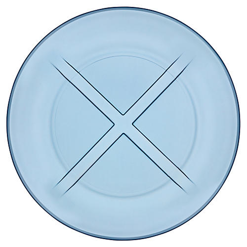 Bruk Salad Plate, Water Blue