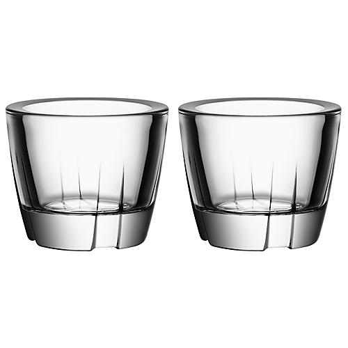 S/2 Bruk Anything Tumblers, Clear