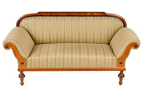 Biedermeier-Style Sofa, C. 1910
