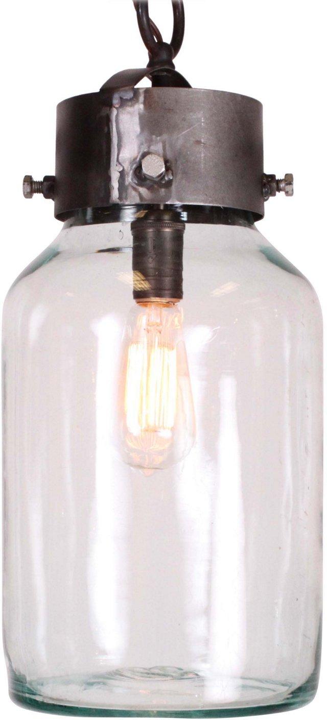 Upcycled Pendant Light