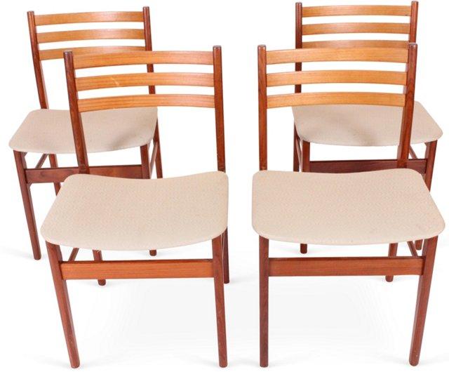 Kolding Midcentury Chairs, Set of 4