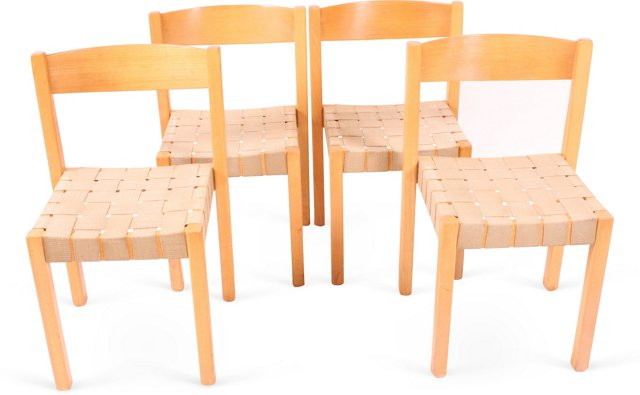 Balzar Beskow S-312 Chairs, Set of 4, I