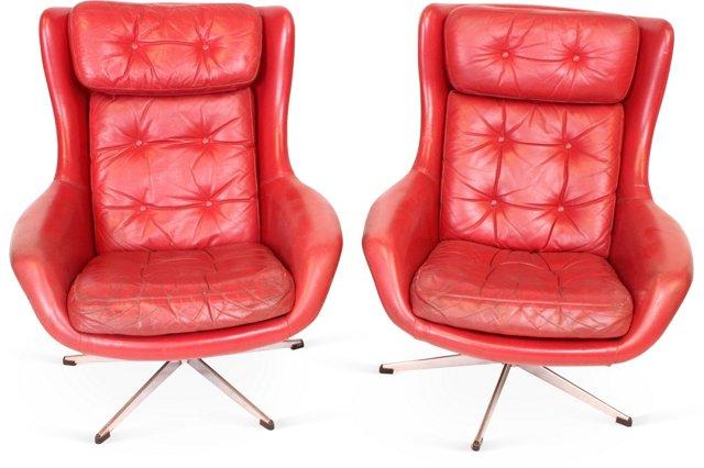 Italian Jetson Chairs, Pair