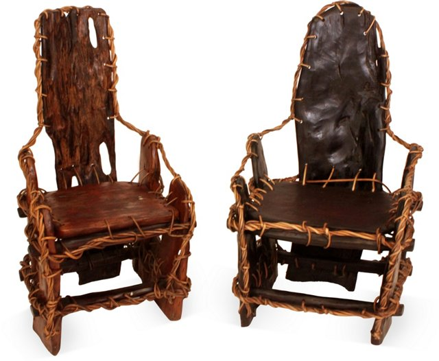 Moroccan King & Queen Chairs
