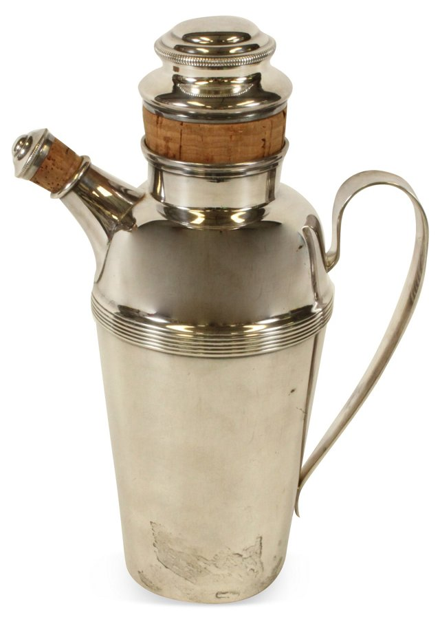 Alta Silverplate Cocktail Shaker