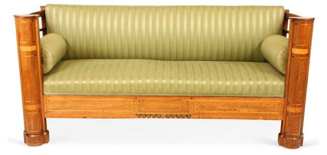 19th-C. Empire Style Sofa