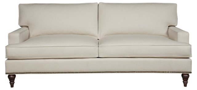 "Collin 85"" Sofa, Pearl"