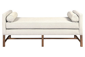 Andrew Day Chaise, Ivory