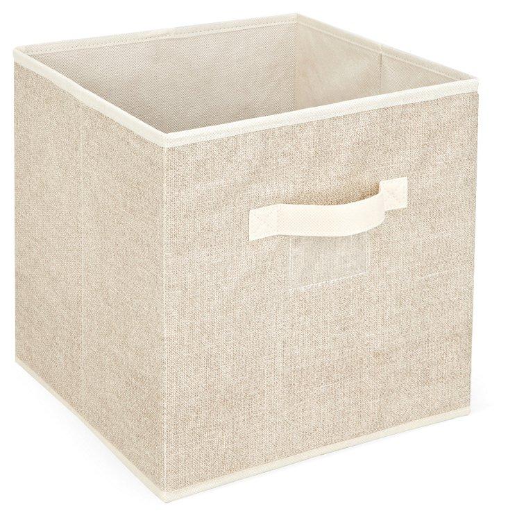 S/2 Storage Cubes, Beige