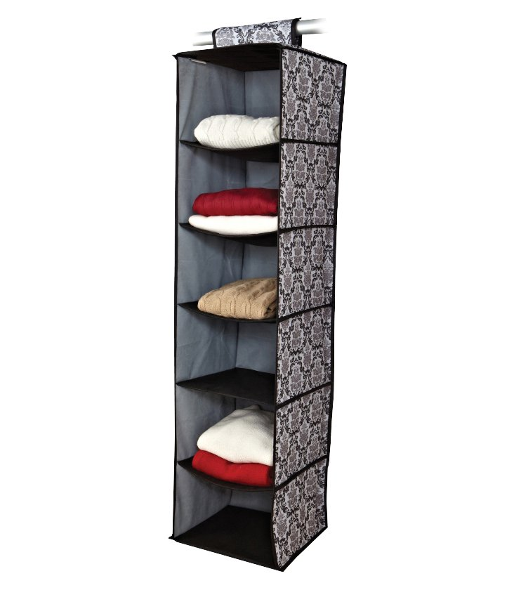 6-Shelf Hanging Organizer, Delancy