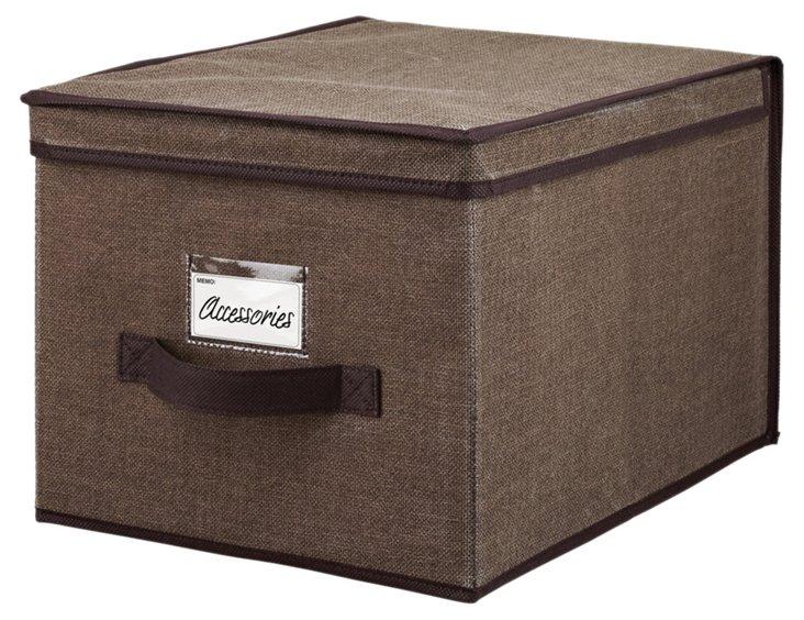 Large Storage Box, Espresso