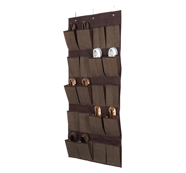 20-Pocket Door Organizer, Espresso