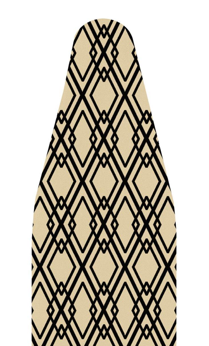 Ironing Board Cover, Tan/Black