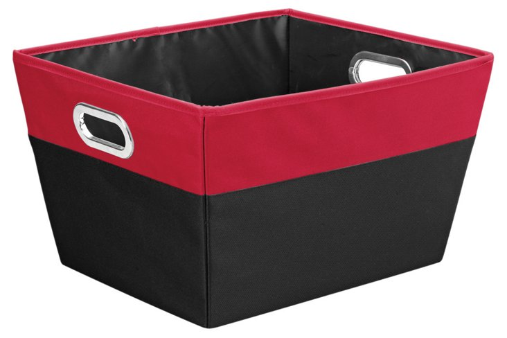 Large Color-Block Storage, Red