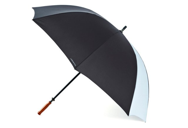 Golf Umbrella, Black/Gray