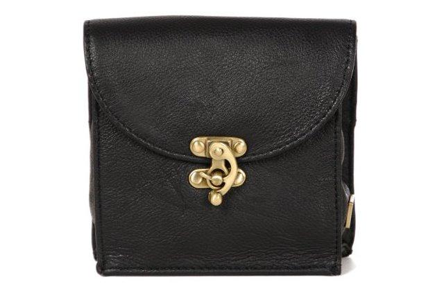 Leather Accessory Keep, Black