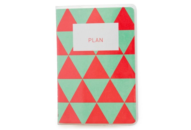 S/2 Perfect Mini Planners, Strawberry